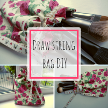 Draw string bag DIY